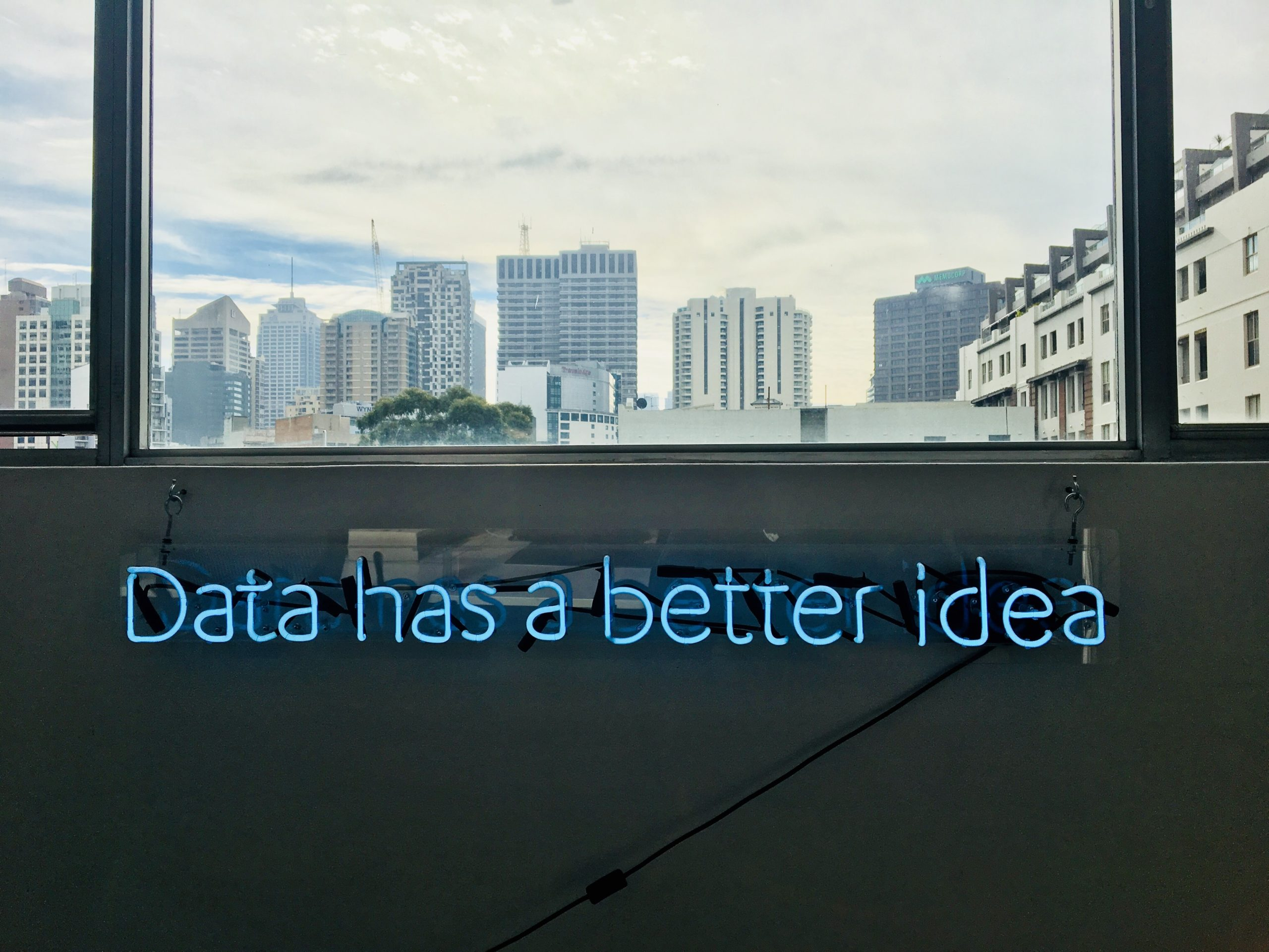 data has a better idea quote about developing software and AI
