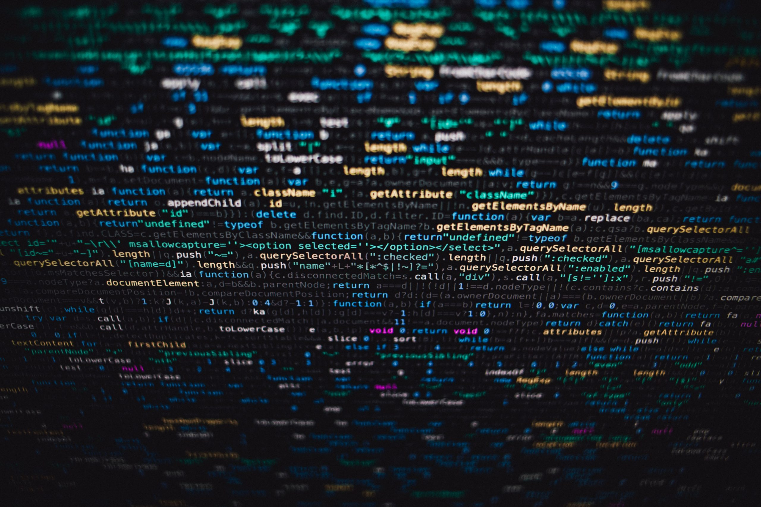 computer code showcasing product development risk reduction