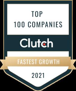 Clutch Co. Top 100 Badge