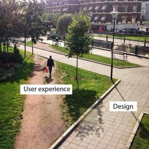 Desire Paths in App Development and Design